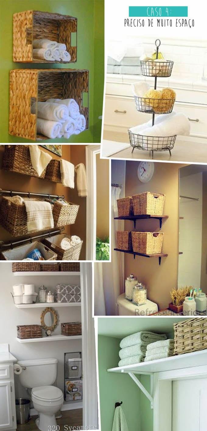 Apartamento 304 Resolvendo o problema dos banheiros sem armário -> Armario De Banheiro Para Guardar Toalhas