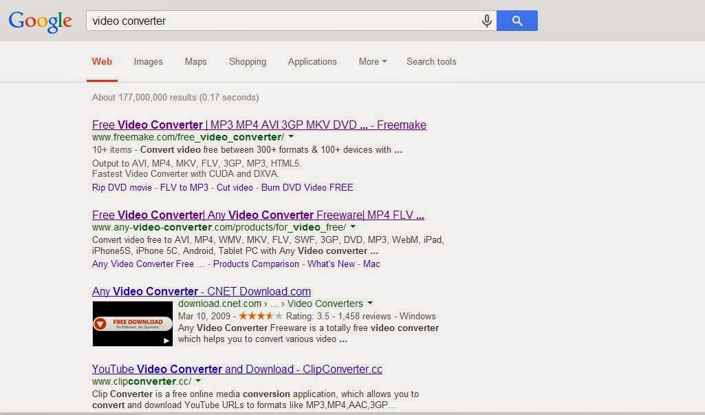 Google search freemake  video converter