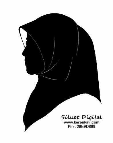 Line Art Wajah : Siluet wajah pakai jilbab example themes hive