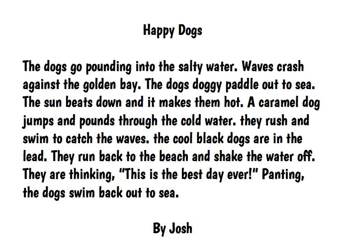 Descriptive essay about beach