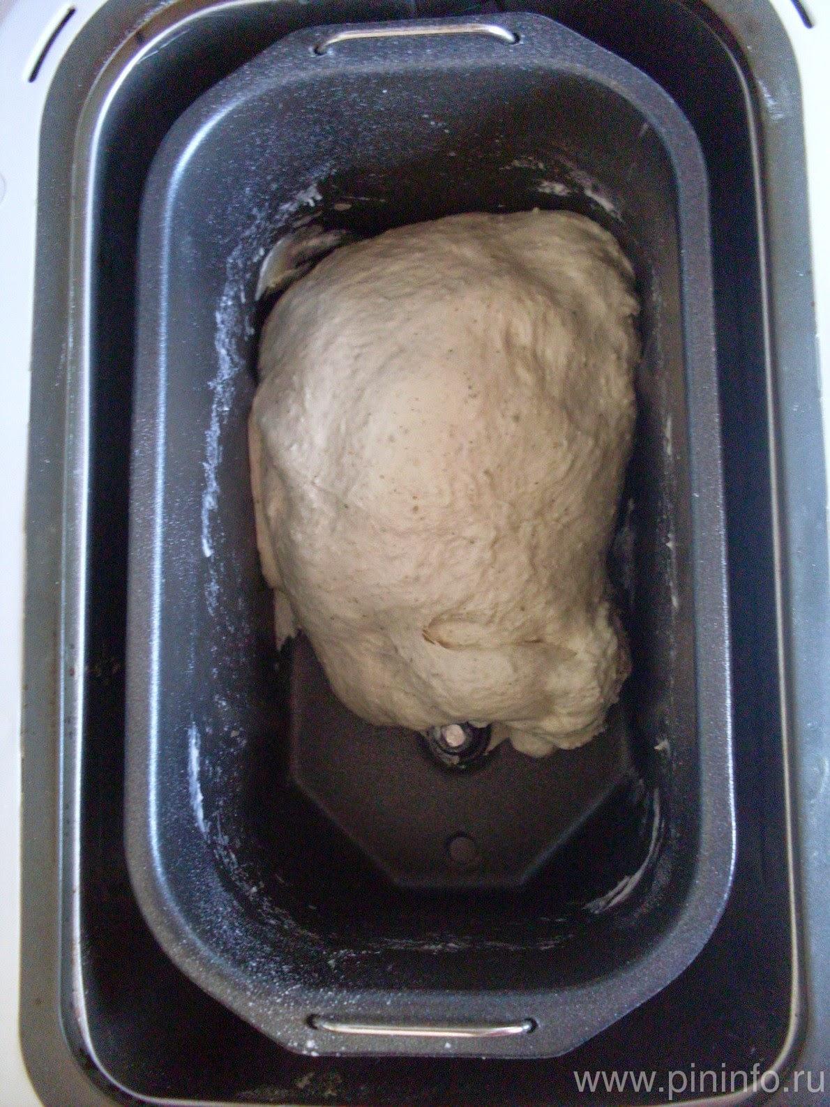 Замес теста в хлебопечке