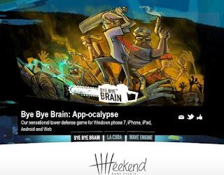 bye bye brain main page poster maya pixelskaya