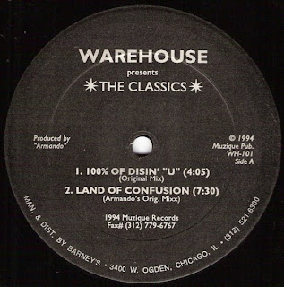 Warehouse Presents The *Classics*