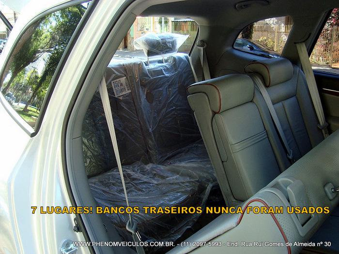 Hyundai Santa F 233 2008 Prata Usada 7 Lugares Ve 237 Culo