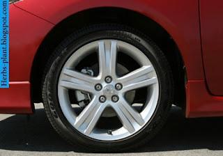 Toyota corolla car 2013 tyres/wheel - صور اطارات سيارة تويوتا كورولا 2013