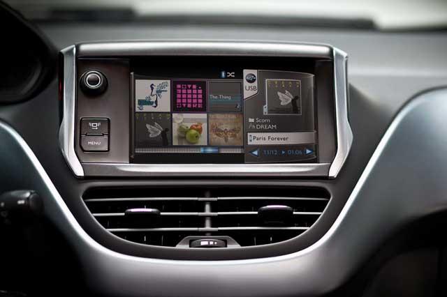 Novo Peugeot 208 - Central Multimídia