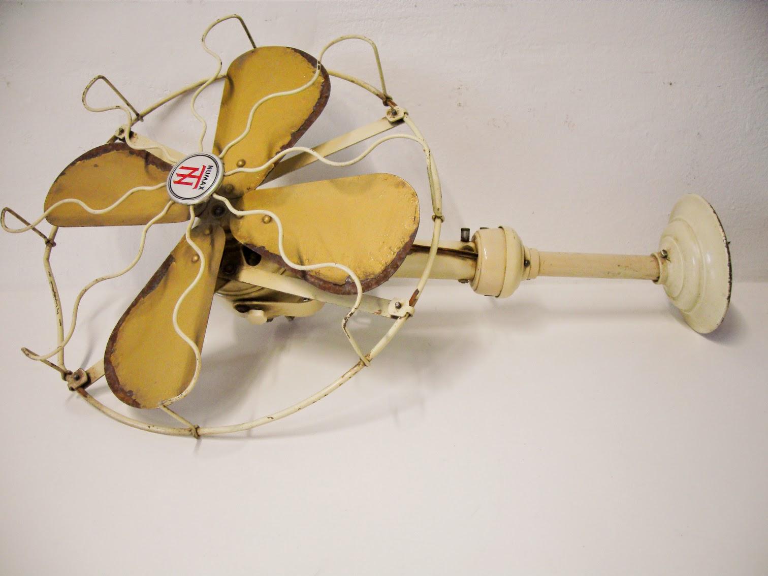 Decoraci n vintage antiguitats baraturantic ventilador - Ventilador de techo vintage ...