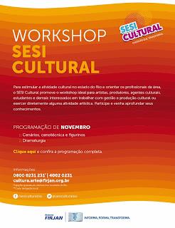 Workshop SESI Cultural em Teresópolis - Novembro 2013