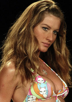 Gisele Bundchen to become first billionaire model