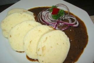 Goulash - plato típico de Praga