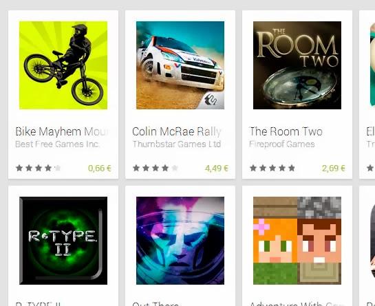 Los mejores juegos para Android en marzo 2014