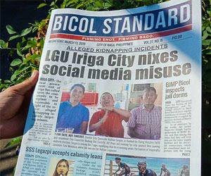 Bicol Newspaper