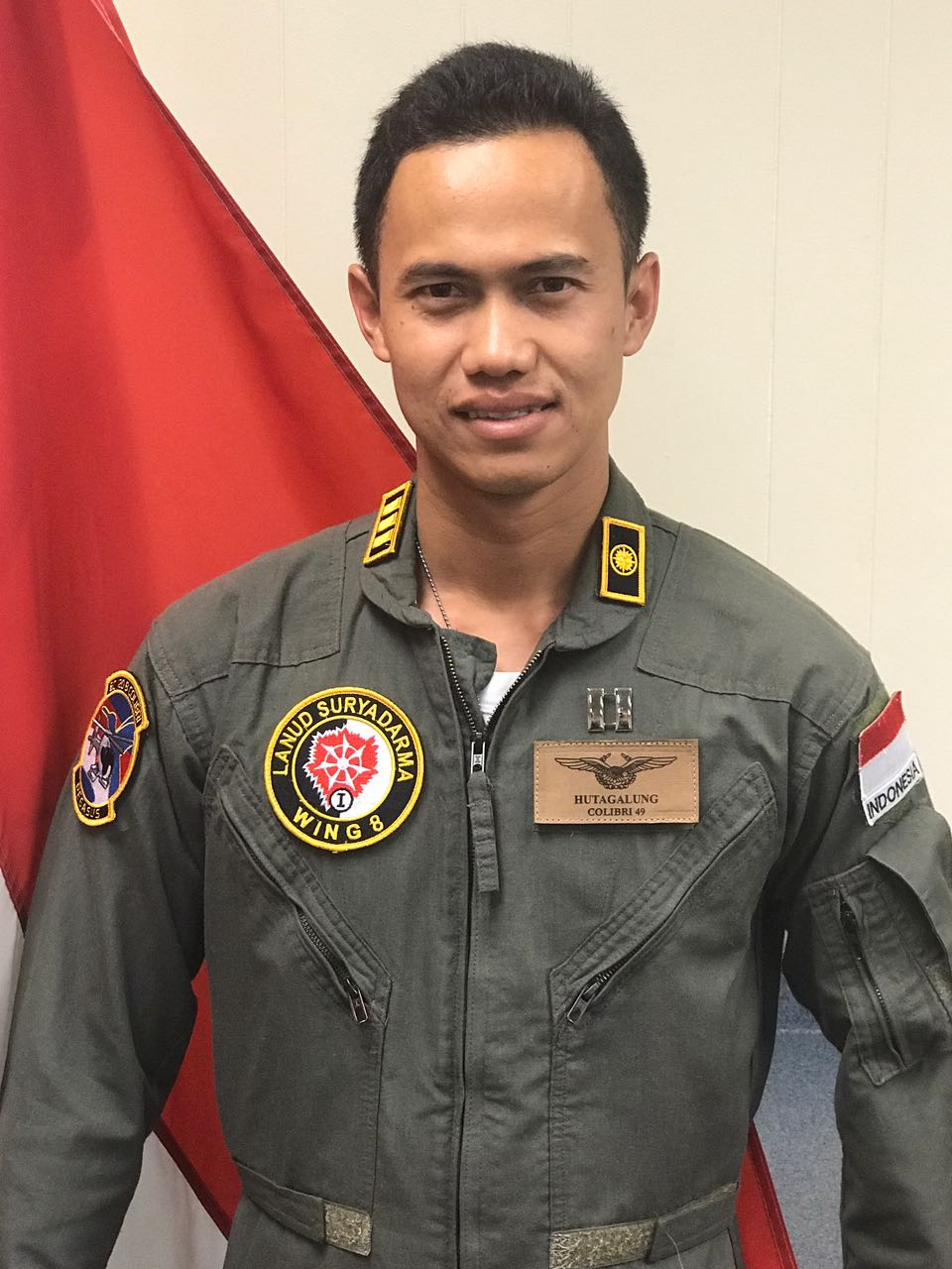 Capt Hutagalung, Indonesian Airforce