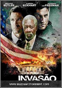Capa Baixar Filme Invasão à Casa Branca   BDRip AVI + RMVB Legendado ( 2013 ) Baixaki Download