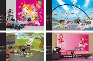 افضل صور طبيعية ومناظر ثلاثية الابعاد لغرف الاطفال لعام 2013