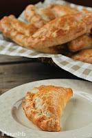 Mini empanada de berenjenas y manzana