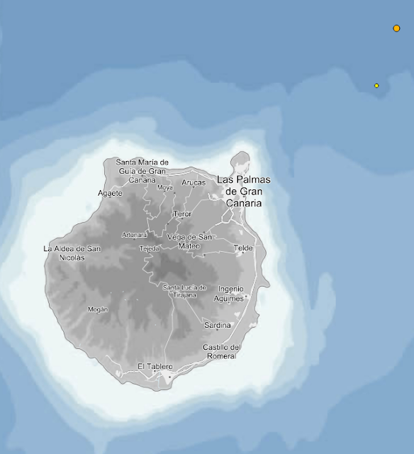 terremotos noroeste gran canaria