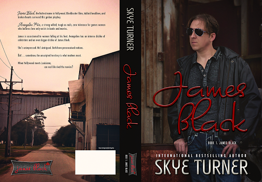 Cover Reveal James Black by Skye Turner