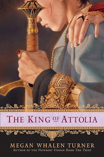 Book cover of The King of Attolia by Megan Whalen Turner