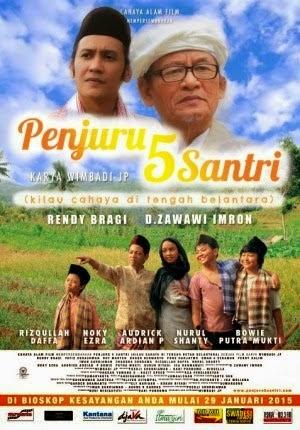 Review Film Penjuru 5 Santri 2015 Terbaru