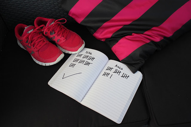 the winner ist The Nike free in pink