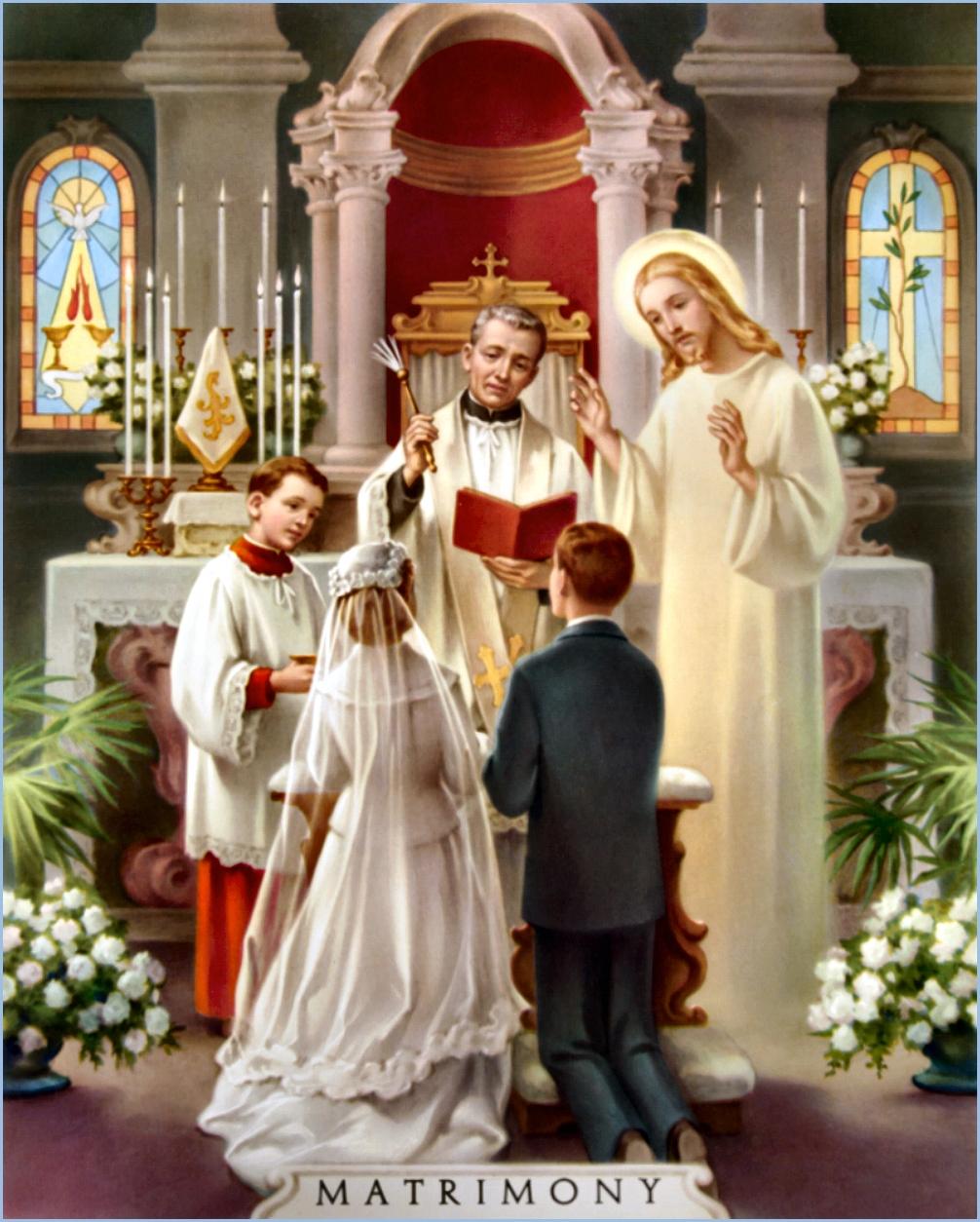 Matrimonio Catolico Y Ateo : Miles christi el matrimonio instituciÓn establecida por dios