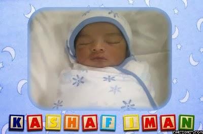 Iman lahir @ 29 Nov 2012 @ hosp kajang