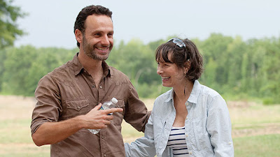 TWD Gale Anne Hurd & Andrew Lincoln
