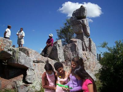 Piedra de Fierro en Puntas de Fraile Muerto. Uruguay