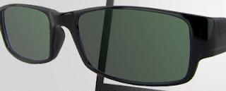 Super Kacamata anti radiasi setelah dipakai