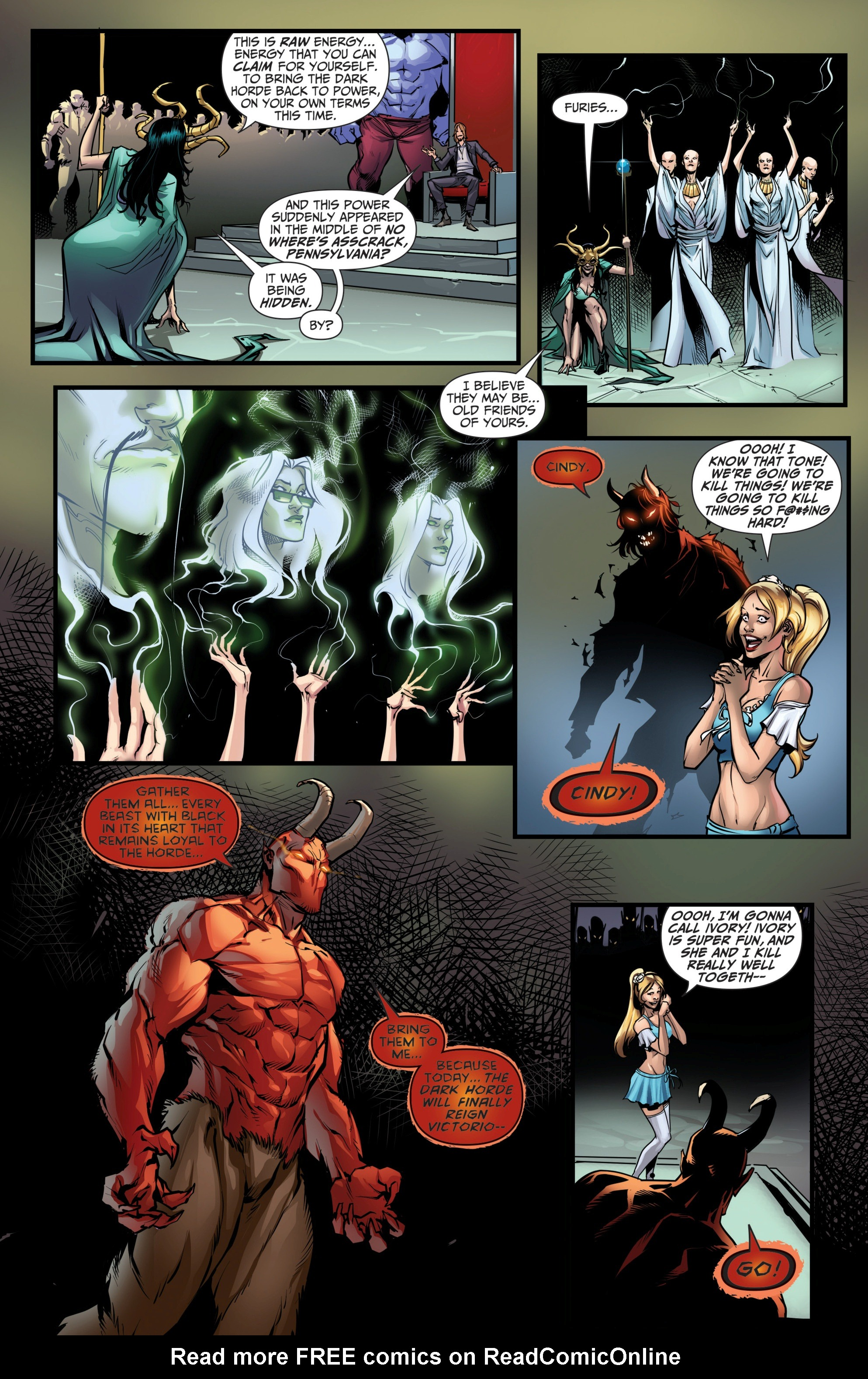 Grimm Fairy Tales (2005) Issue #111 #114 - English 9