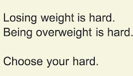 my own thoughts regarding weight loss -- please click the photo