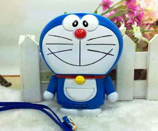 Gambar Power Bank Doraemon