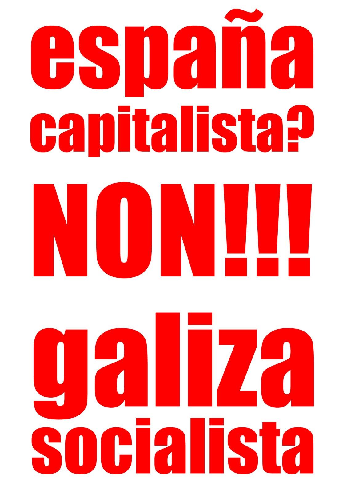 CAMPAÑA POR UNA GALIZA SOCIALISTA! PEGATINA