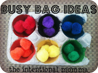 busy bag ideas for toddlers