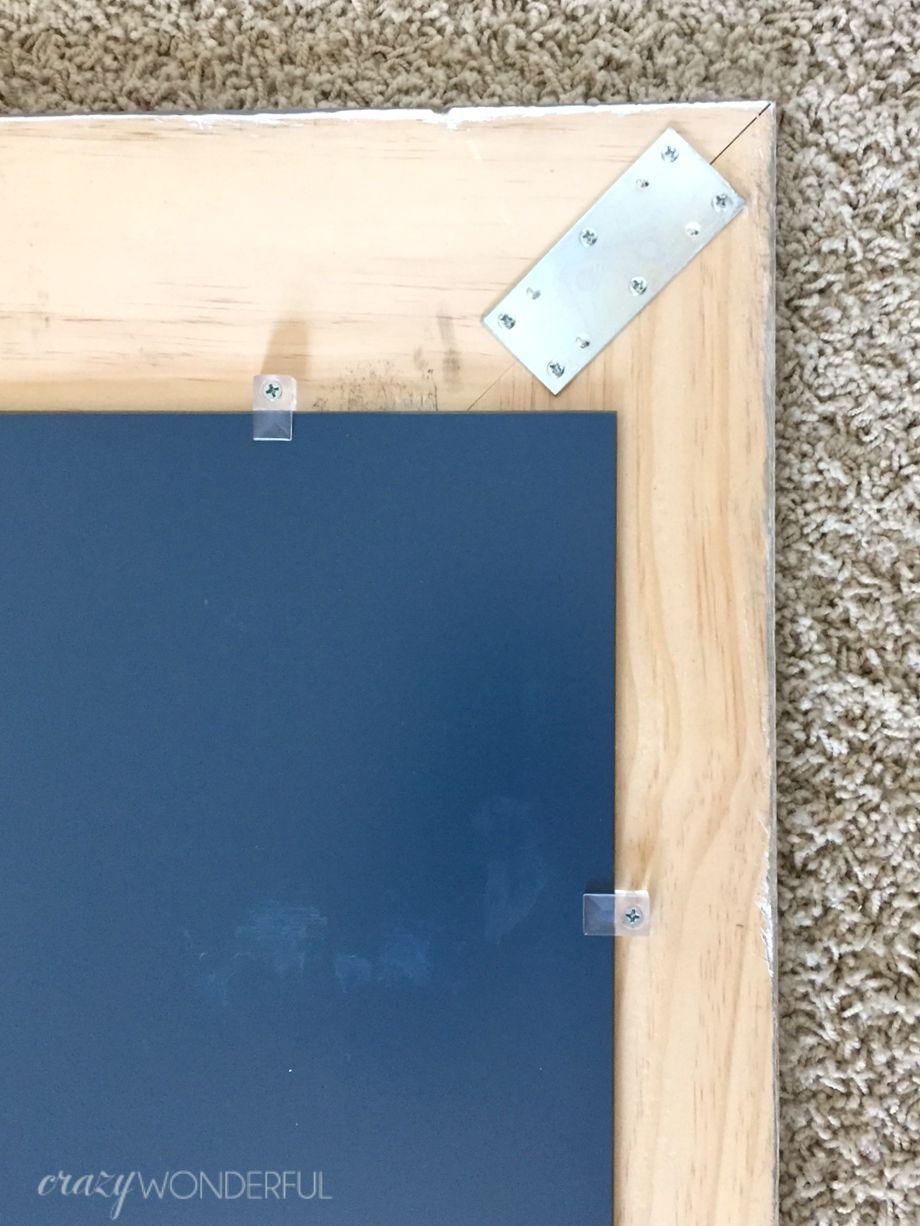 DIY inlay mirror - 2 ways - Crazy Wonderful