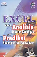 AJIBAYUSTORE Judul Buku : Excel Untuk Analisis Laporan Keuangan dan Prediksi Kebangkrutan Perusahaan Pengarang : Deanta Penerbit : Gava Media