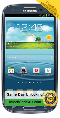 Factory Unlock Samsung Galaxy S3 T999