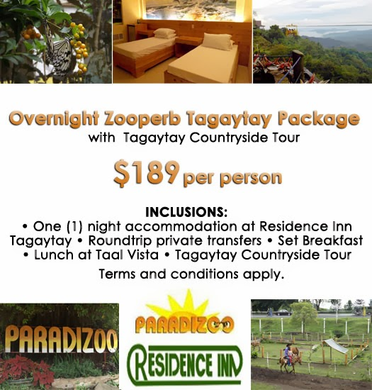 Mango Tours Tagaytay Zooperb Package