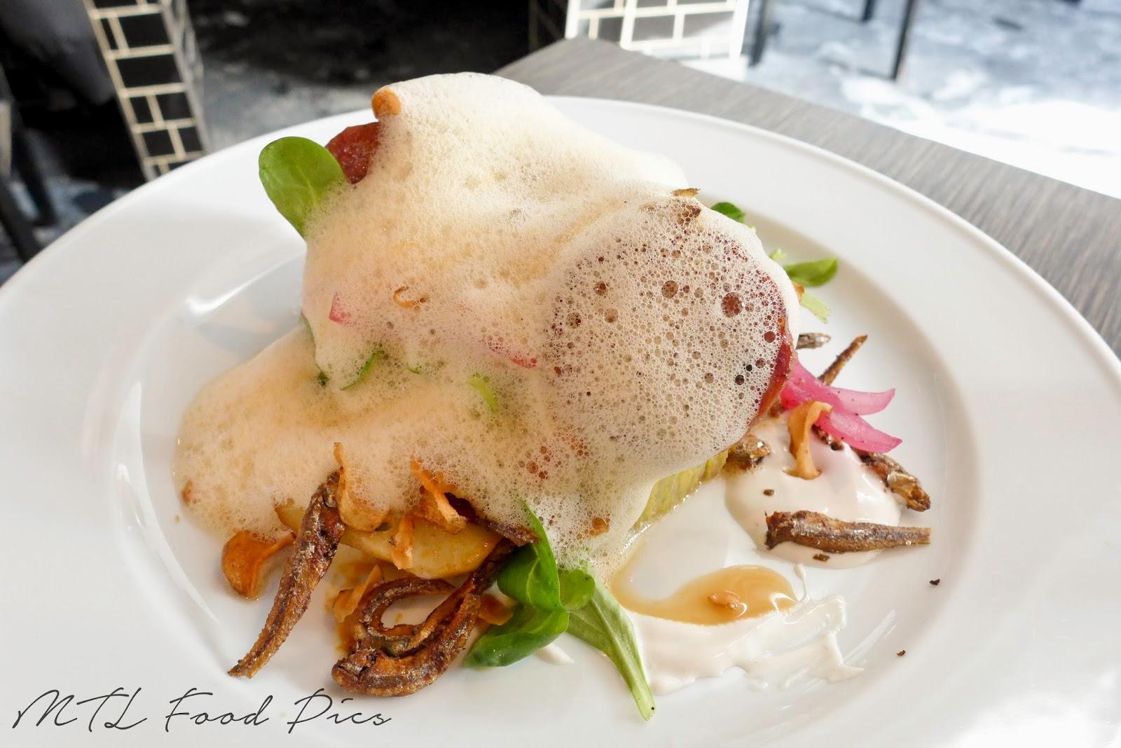 Sunchoke artichokes tortilla - brunch Montreal