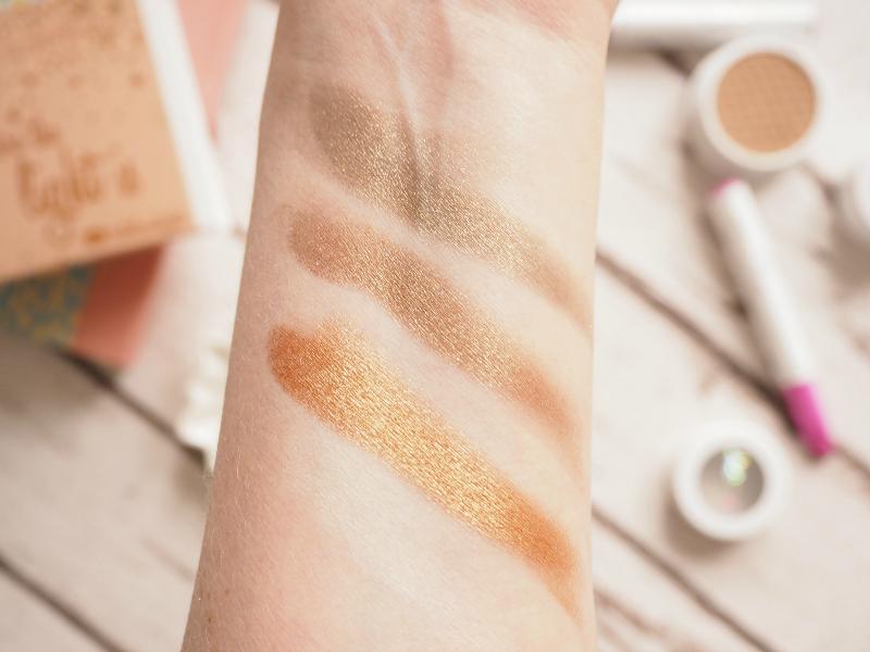ColourPop makeup haul - Kathleen LIghts shadows swatches