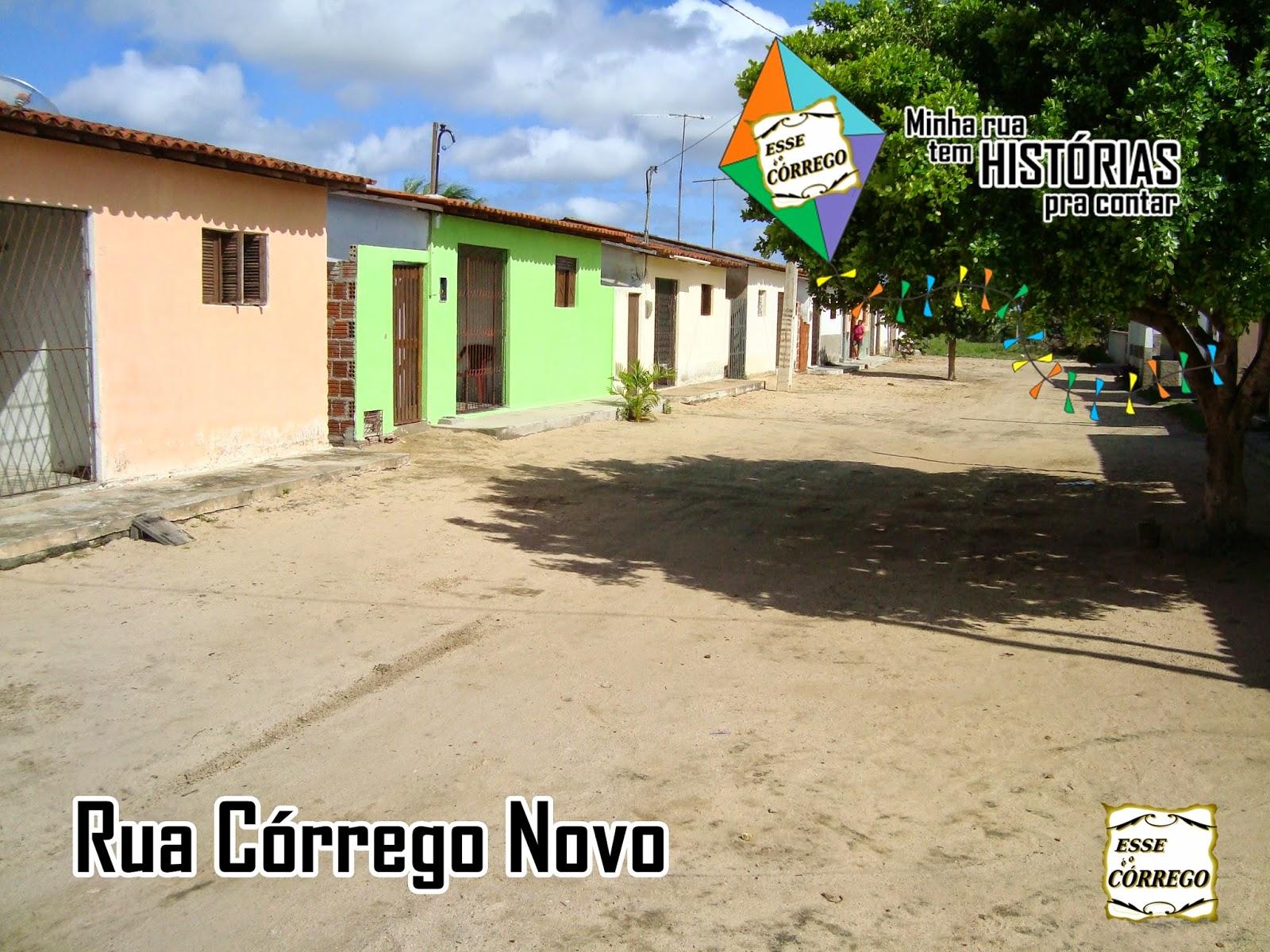 Rua Córrego Novo
