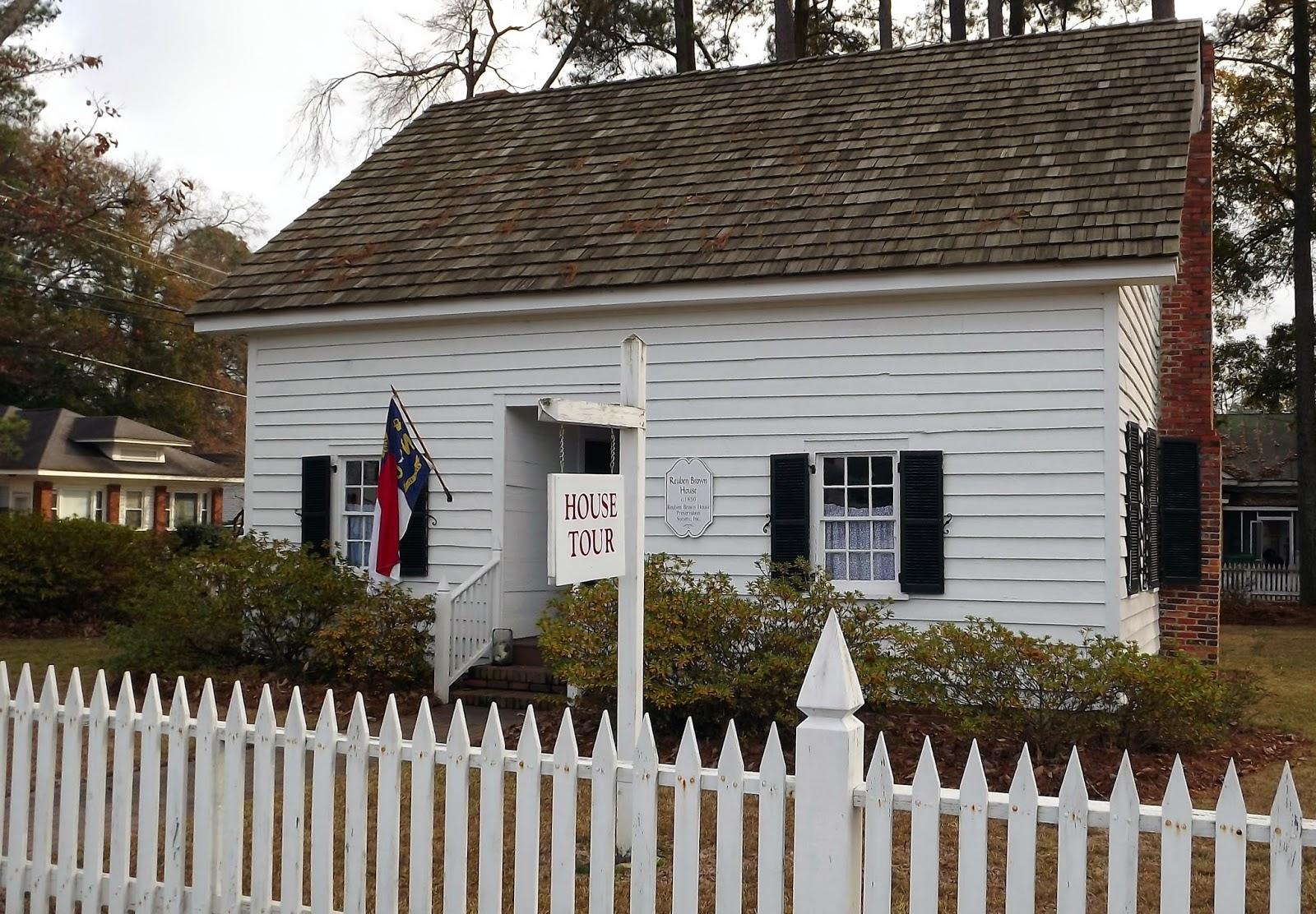 The Reuben Brown House, Whiteville, NC