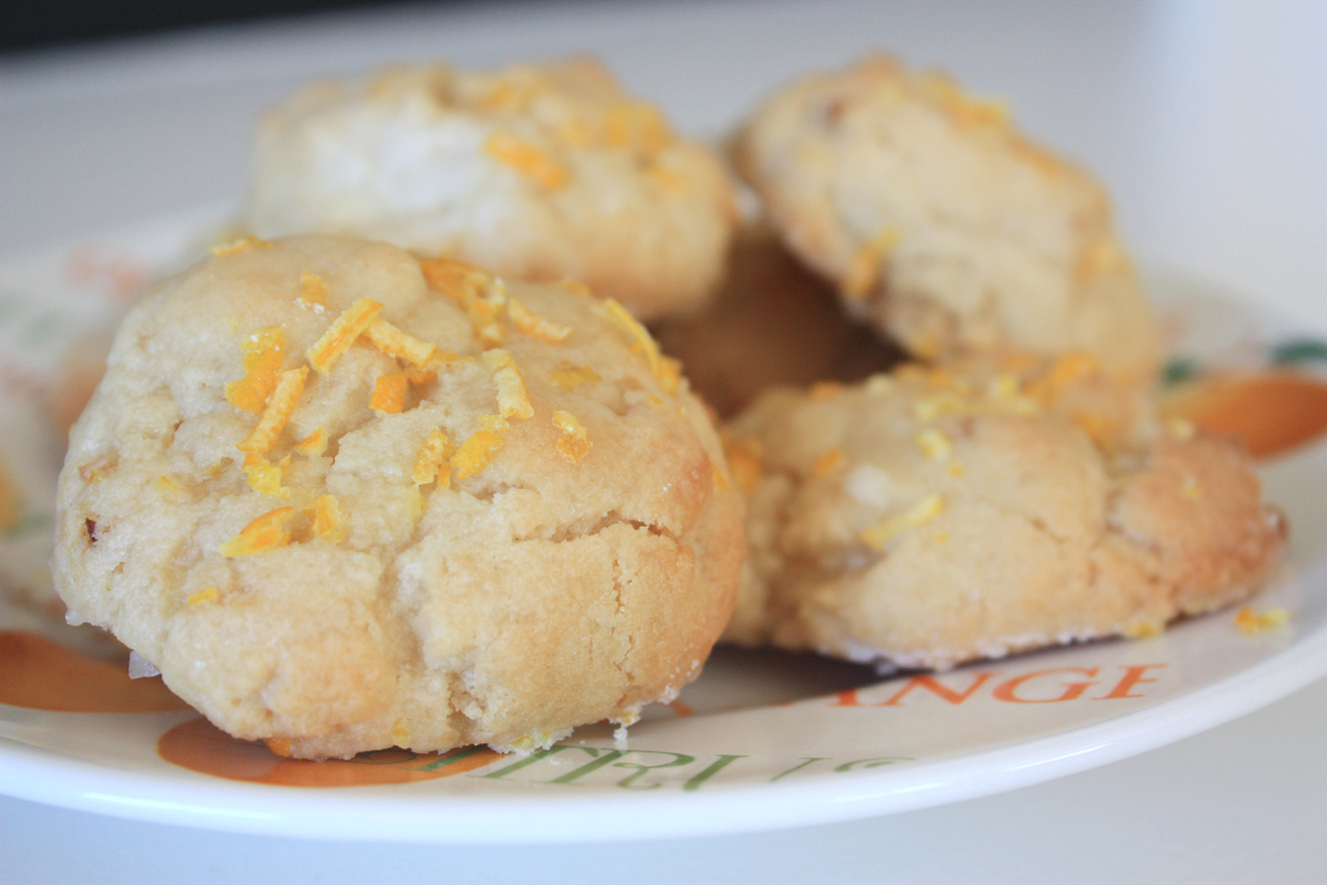 The Sassy Pepper: Recipe: Glazed Lemon Cookies