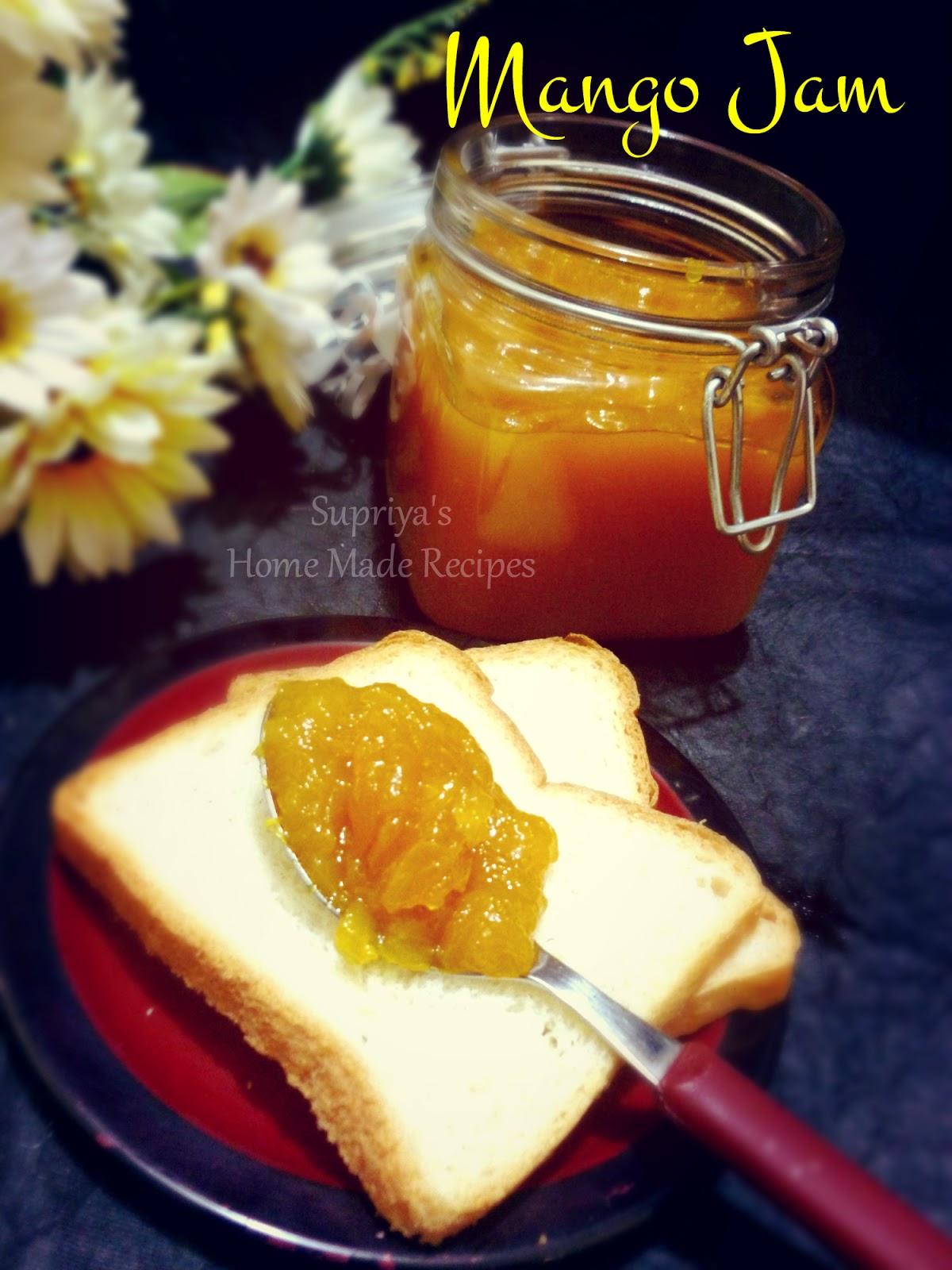 Mango Jam - Preservative free - Home Made