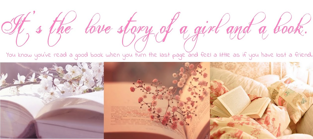 It's the love story of a girl and a book...