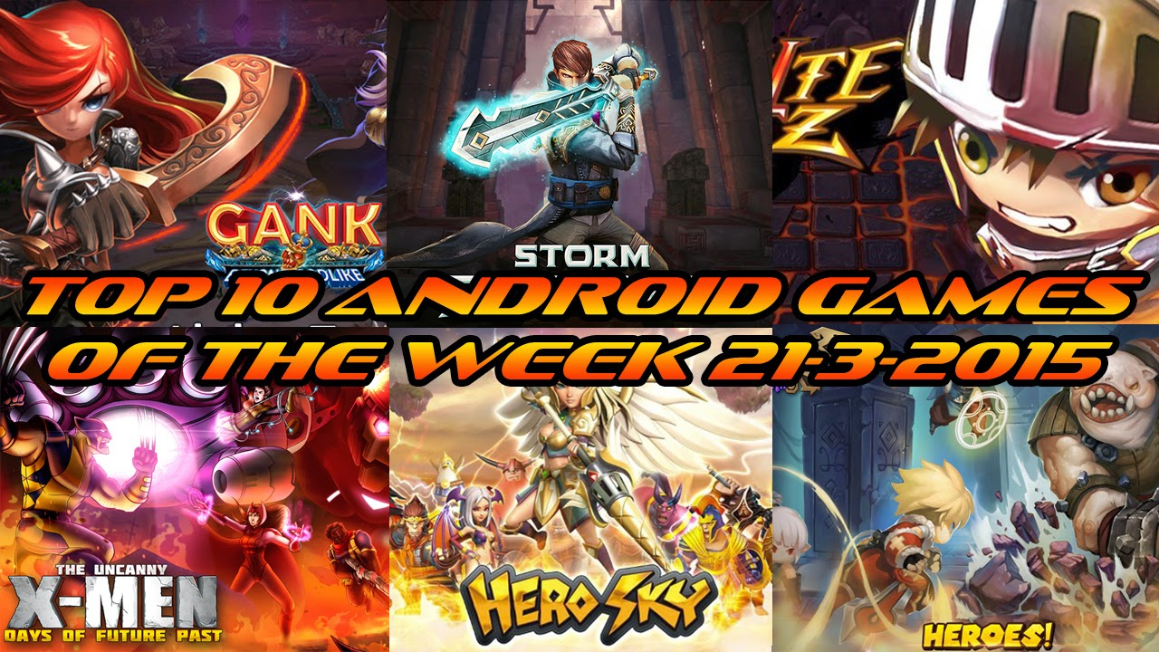 TOP 10 BEST NEW ANDROID GAMES OF THE WEEK - 21st March 2015