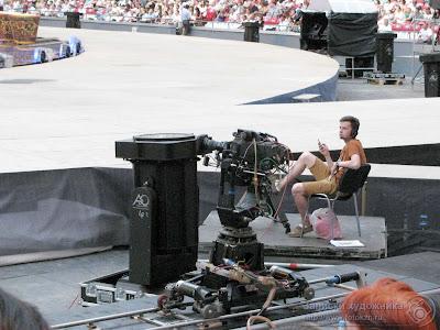 Видеокамера на самоходной тележке, Казань-арена
