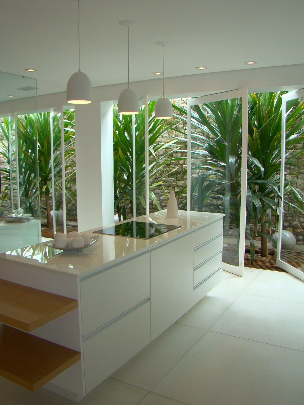 escada e jardim de inverno:Jardins de Inverno #40662A 1200 1600