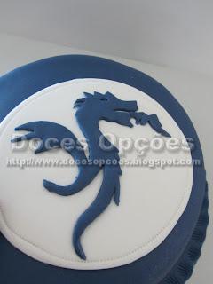 bolo dragão